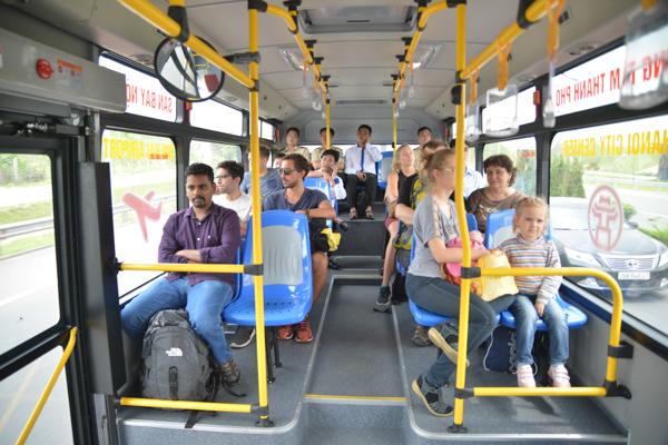 Bus Hanoi Noi Bai Interieur