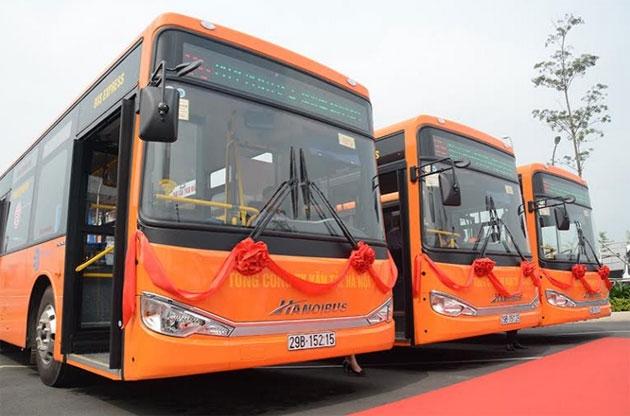 Nouvelle ligne de bus reliant le centre ville de Ha Noi et l'aéroport Noi Bai pour 30.000 VND