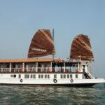 Jonque privée en baie d'Halong An Nam 8 cabines, prix 460 USD