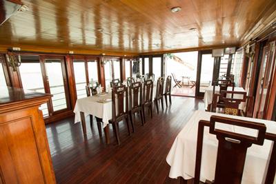 Restaurant Jonque An Nam 7 cabines