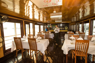 Restaurant An Nam 9 cabines, croisiere privee Halong