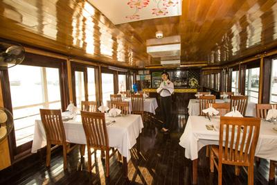 Restaurant An Nam 9 cabines, croisiere privee Halong