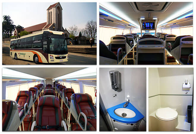 Réservez votre bus Hanoi Sapa en ligne ici