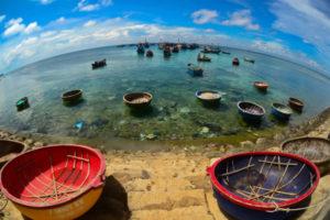 Bateaux de peche en Ile de Ly Son