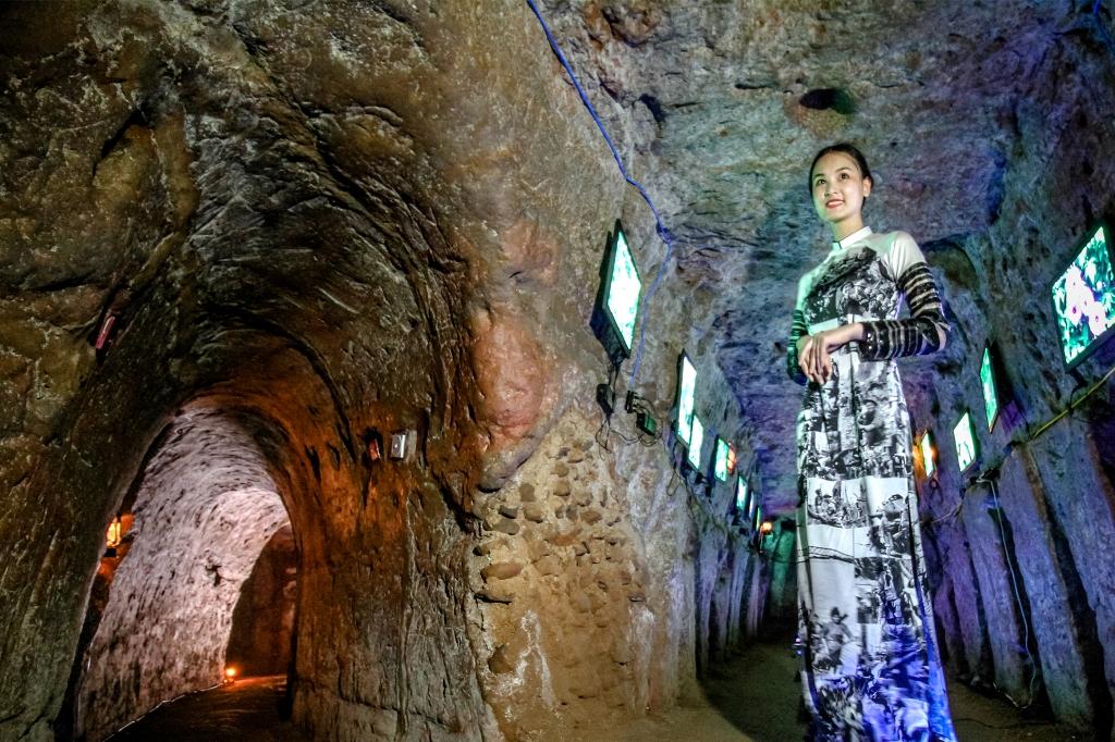 Interieur Les tunnels de Vinh Moc