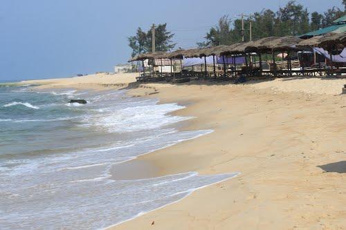 Plage Thuan An à Hue