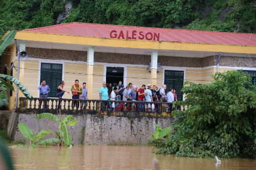 Grandes pluies et innondations au Centre Vietnam