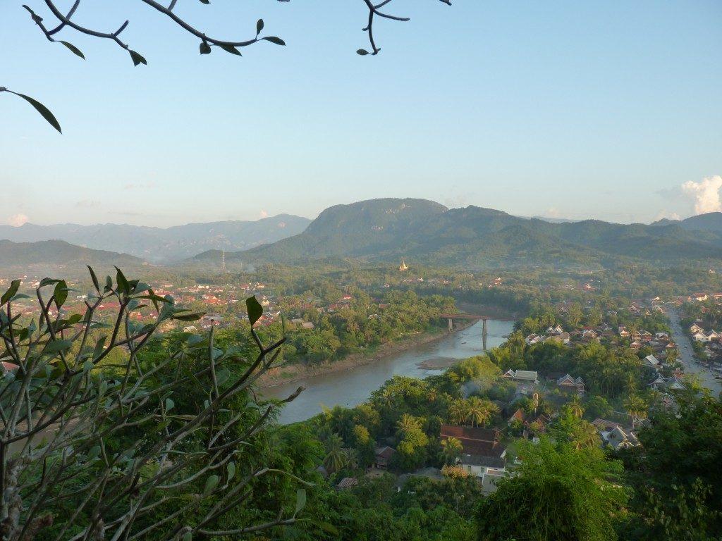 choses à faire à Luang Prabang: Vue de Luang Prabang former Mont Phousi