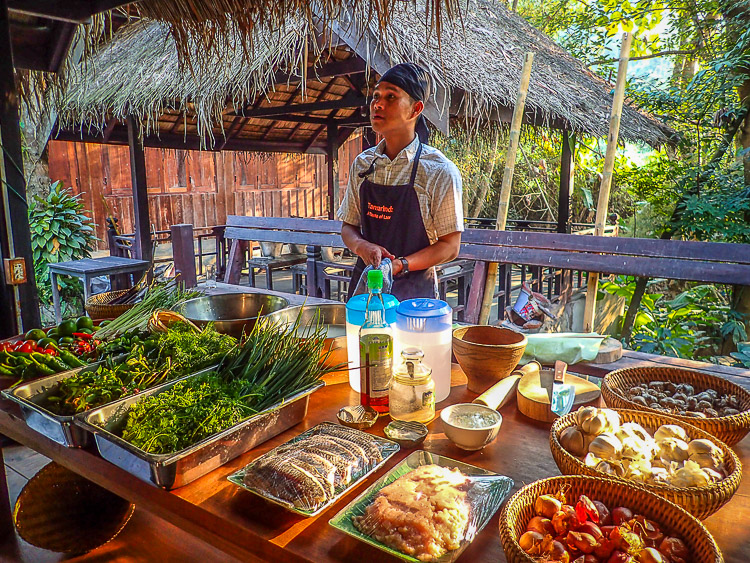 Cuisiner à Tamarind Cooking School