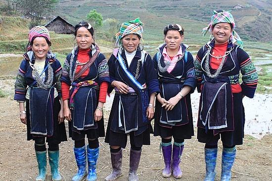 Hmong Noirs au Vietnam