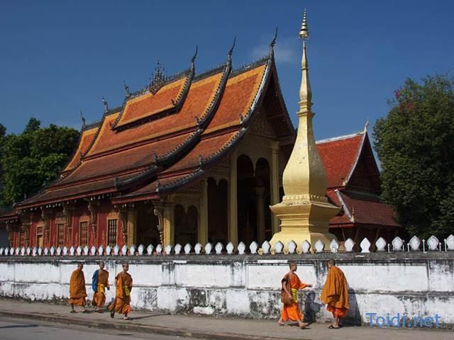 Carte de Vientiane