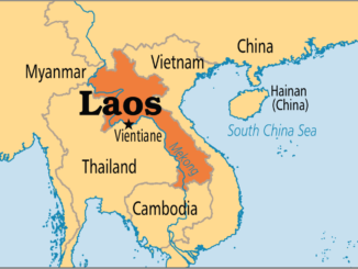 Carte Laos dans la region