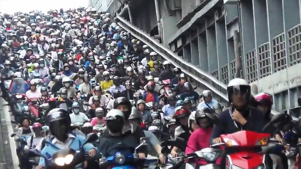 Combien de motos au Vietnam ?