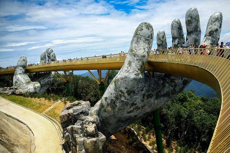 Golden bridge Bana Hills