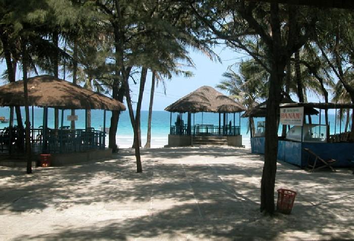 Restaurants sur la plage Doc Let