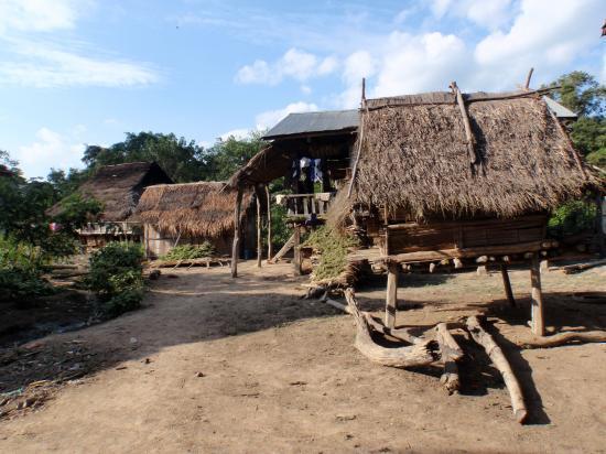 Village Akha Muong Sing Laos