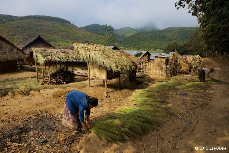 Village Hmong Muong Sinh