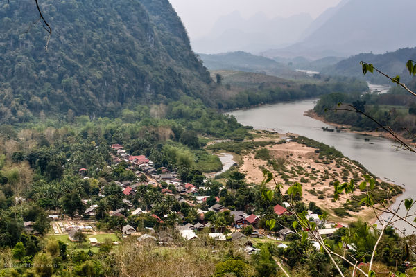 Vue panorama sur Muong ngoi