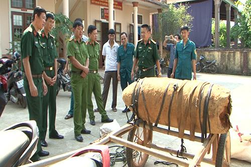 Une bombe de 300 kilos en route pour la vente au Vietnam