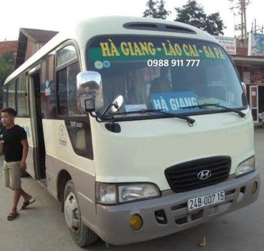 Réservez le billet de bus Sapa – Ha Giang/ Hagiang – Sapa en ligne au meilleur prix