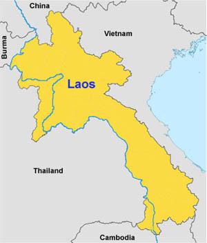Où est le Laos?