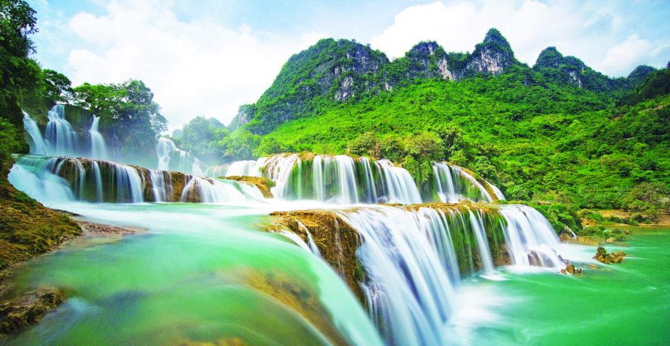 Ban Gioc est la 4ème plus grande cascade du monde