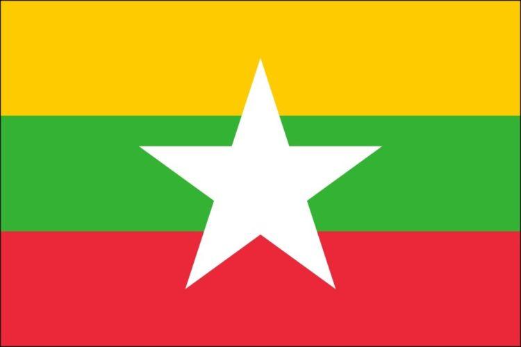 Drapeau national du Myanmar: couleurs, signification et histoire