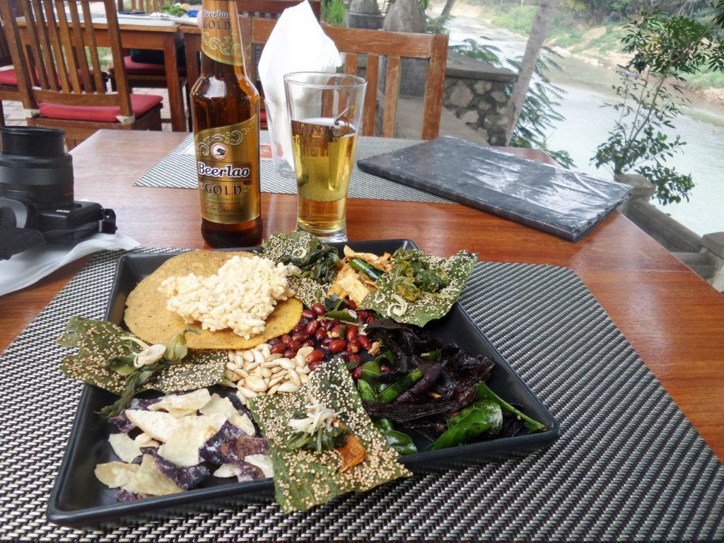 Kaipen (algue frite) Laos