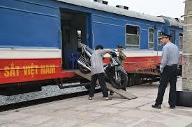 Comment envoyer une moto sur le train