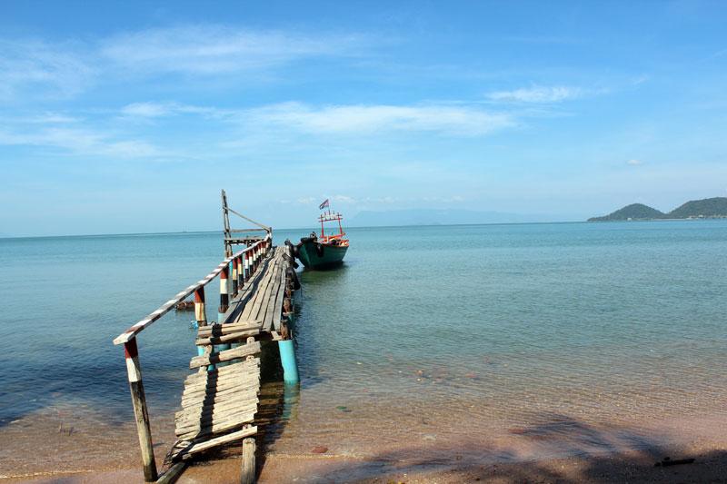 Kep, une station balnéaire originale du Cambodge.