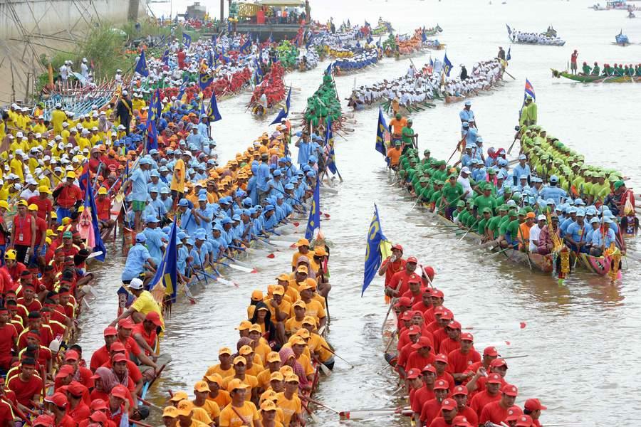Festival de l'eau du Cambodge