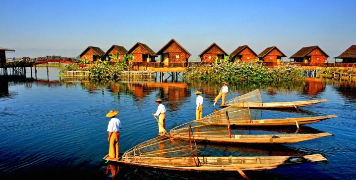 Le meilleur moment pour visiter le lac Inle , Myanmar