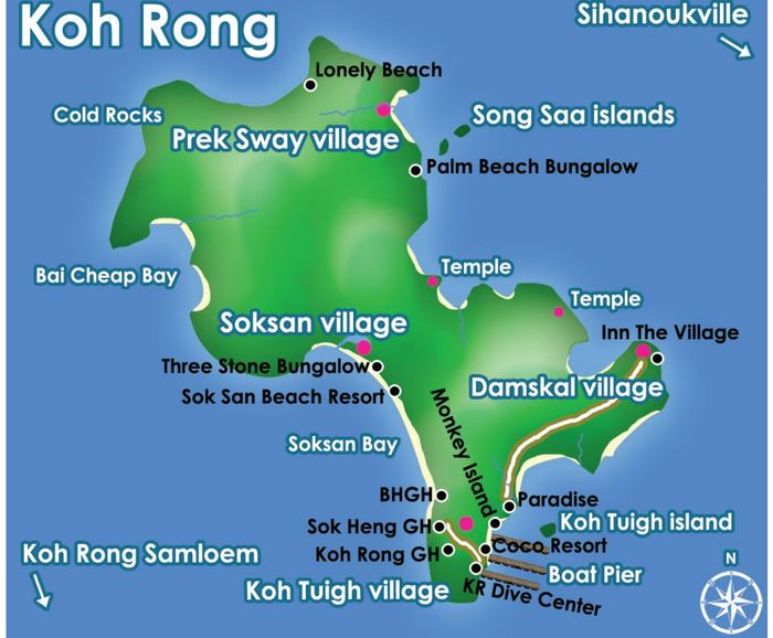 sites de plongée à Koh Kon:
