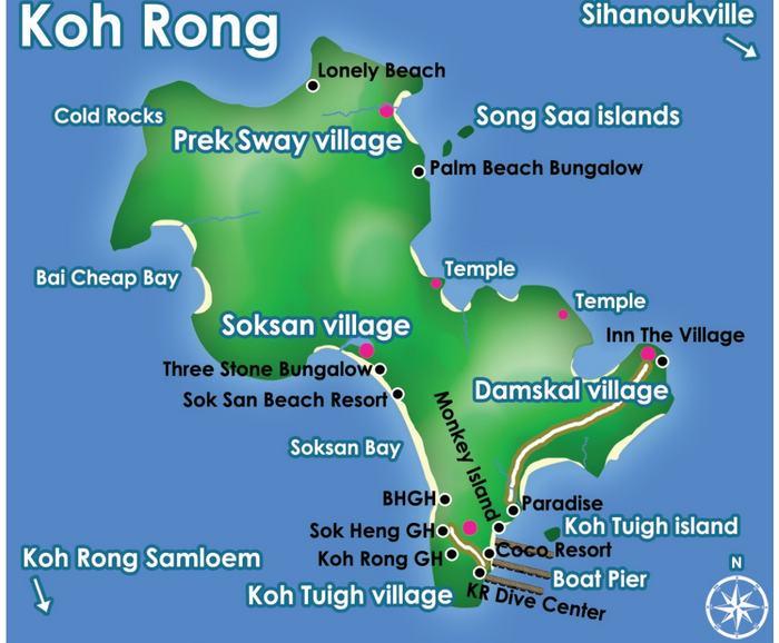 sites de plongée à Koh Kon: