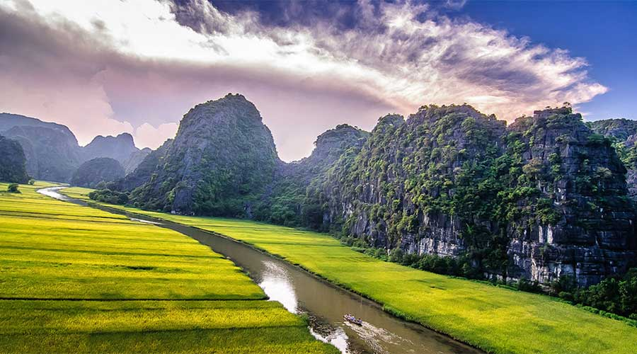 Video : Tam Coc, baie d'Halong terrestre