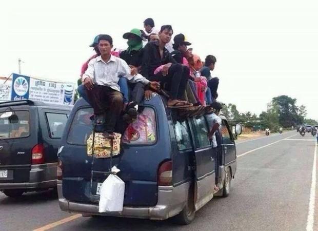 Dangers et ennuis au Cambodge