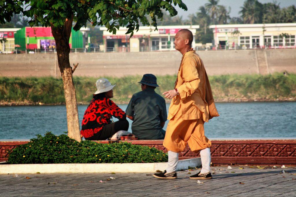 Evitez les faux moines au Cambodge