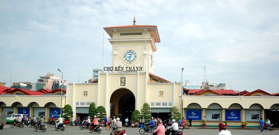 Marché Ben Thanh - le symbole de Ho Chi Minh ville