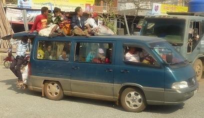 Transport de Sihanoukville à Kampot