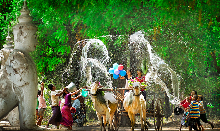 Nouvel An myanmar