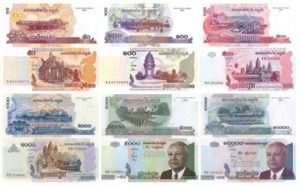 Riel , monnaie cambodgienne
