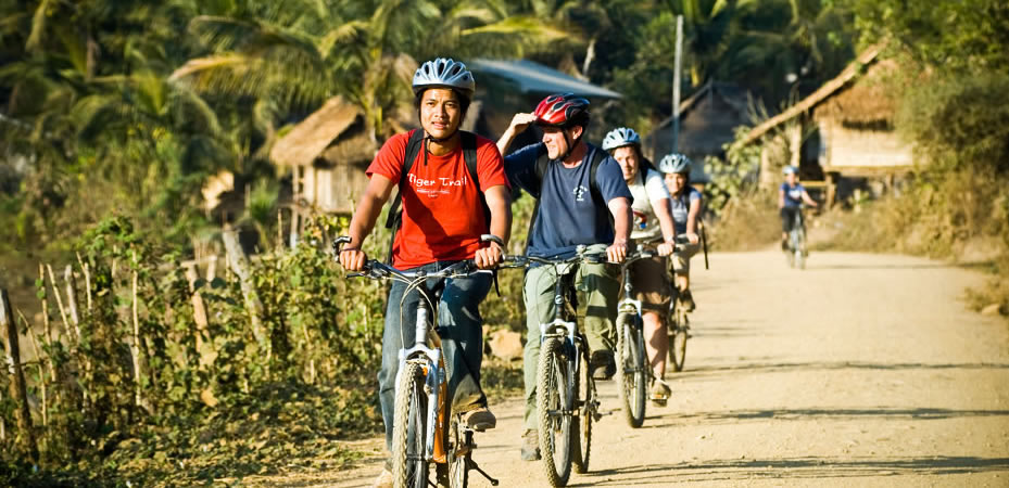 Circuit Laos 1 jour Excursion à vélo dans la campagne de Luang Prabang