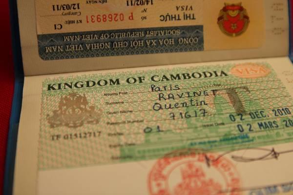 QUESTIONS FRÉQUEMMENT POSÉES À propos de Visa pour le Cambodge