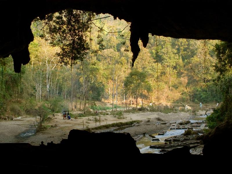 Grotte des Poissons Mae hong Son