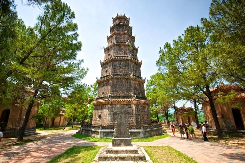 Tour Phuoc Duyen: la structure la plus emblématique de la pagode