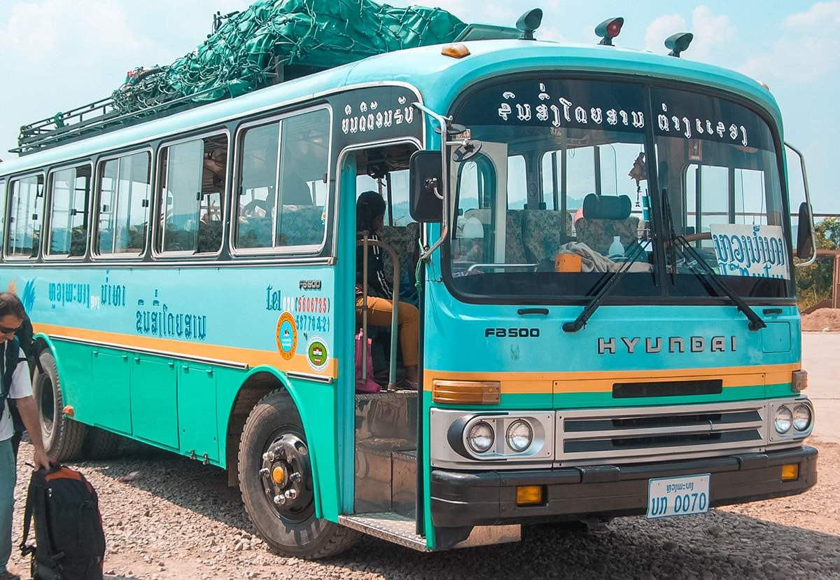 Bus chiangmai Laos
