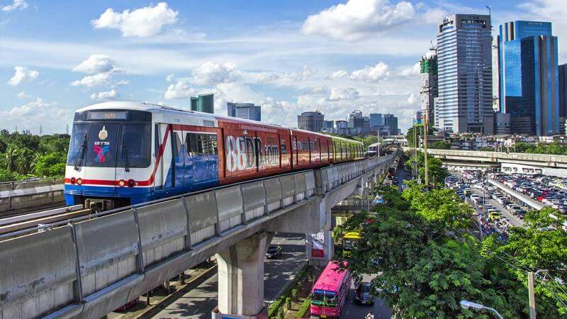 BTS Sky Train Bangkok