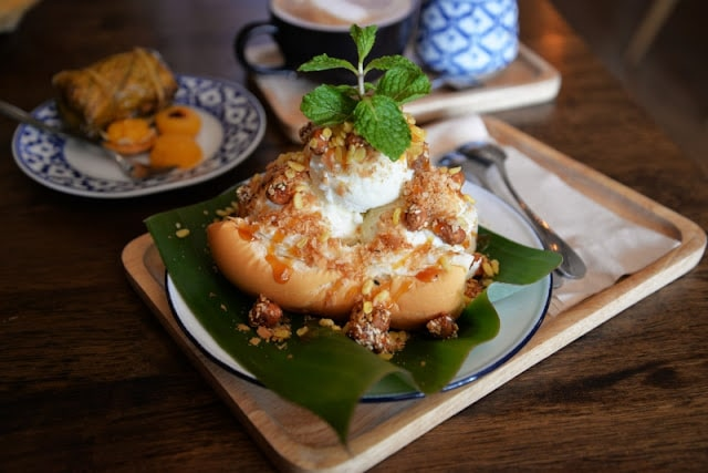 desserts thaïlandais à Baan Kao Nhom
