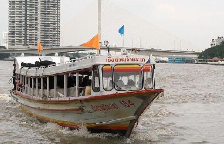 Bateaux sur le fleuve Chao Phraya, Chao Phraya Express, une bonne idée pour visiter Bangkok
