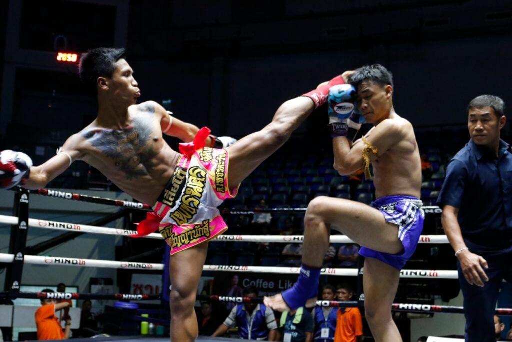 Combat de boxe Thai Bang Kok